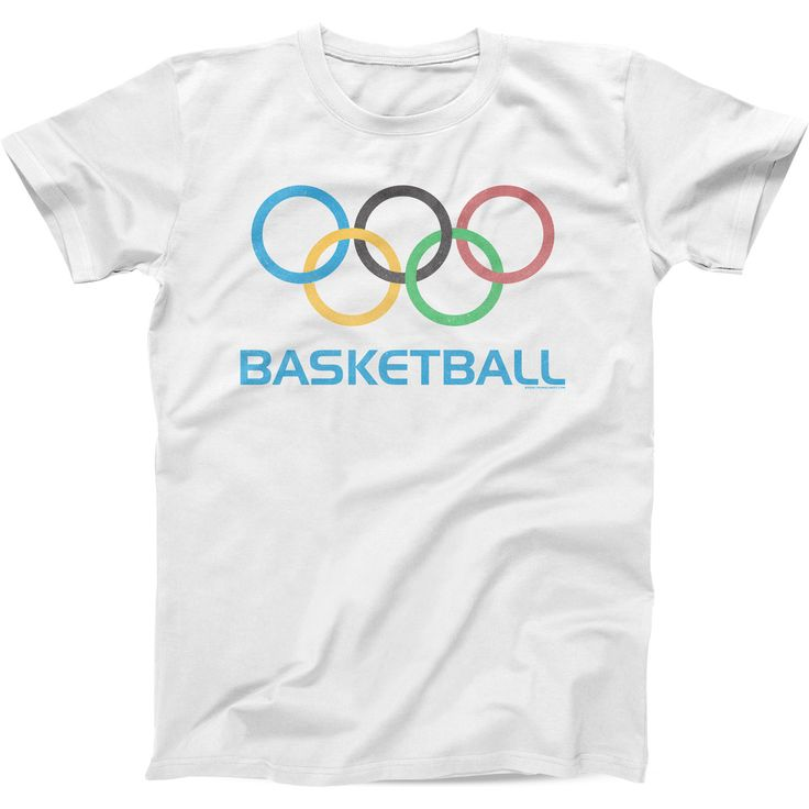 Olympic Basketball - Mens Fitted Cotton Crew T-shirt
