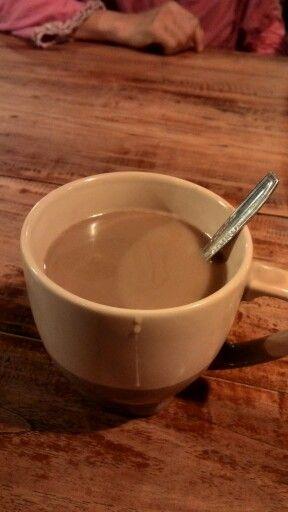 milk coffee ☕