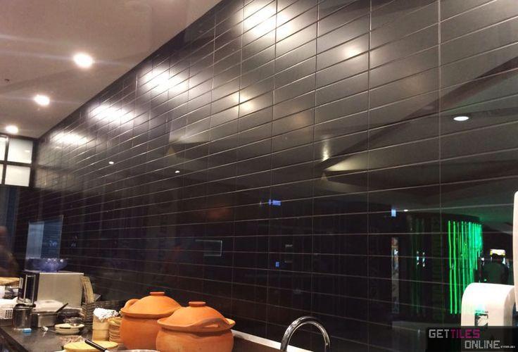 Black Matt Wall 75x300 (Code:01179) - Get Tiles Online