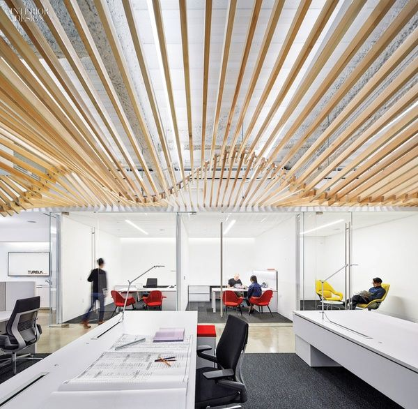 879 best office the workspace images on pinterest for Office interior design magazine