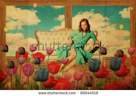 Flowers Vintage Fotos, imágenes y retratos en stock | Shutterstock