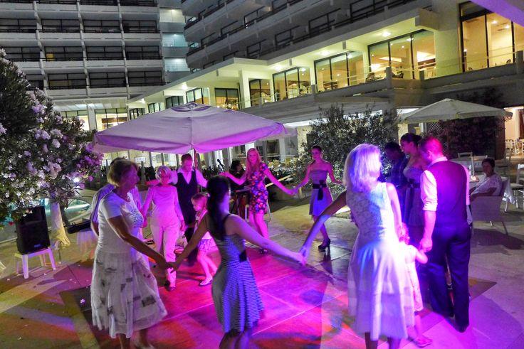 International Night by the pool - Grecian Bay Hotel, Cyprus