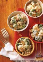 Фото к рецепту: Гарнир из брокколи и цветной капусты, приготовленный в медленноварке
