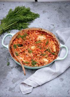 Greek Squid & Orzo Pasta by Nigella Lawson