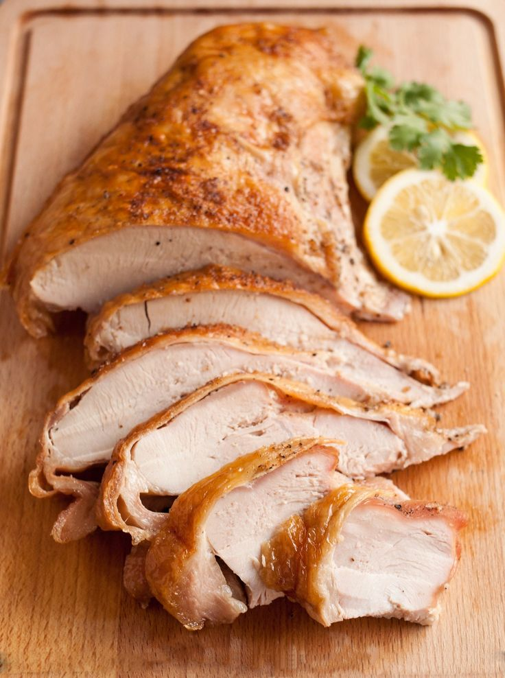 Watch the video to learn how to cook turkey breast for Thanksgiving.