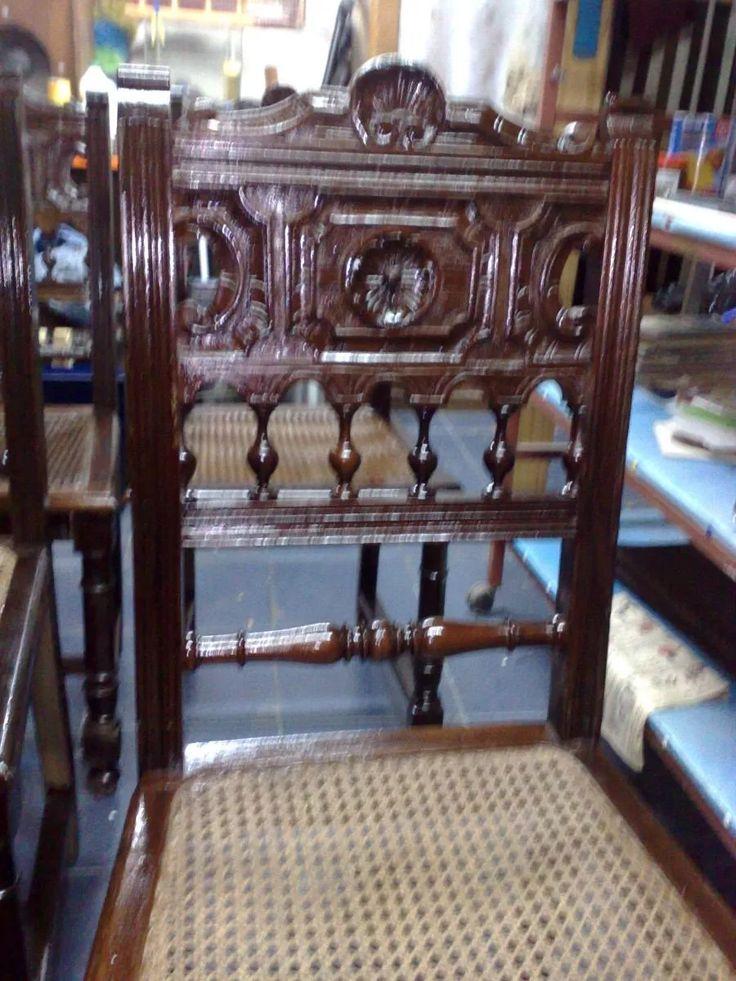sillas vienesas esterillada antuguas