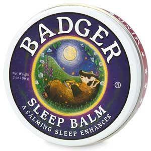 Badger Badger Balm, Sleep Balm. I love this stuff! The whole line is wonderful! 100% recommend