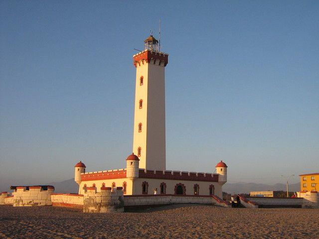 La Serena's lighthouse
