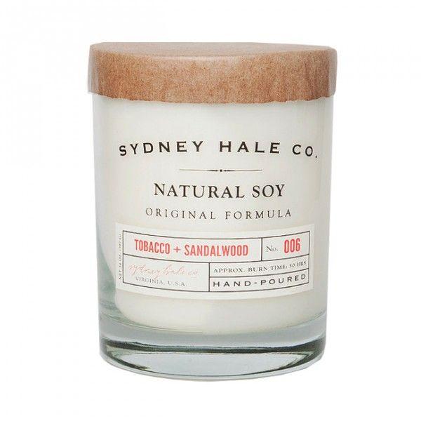 Sydney Hale Tobacco and Sandalwood Candle