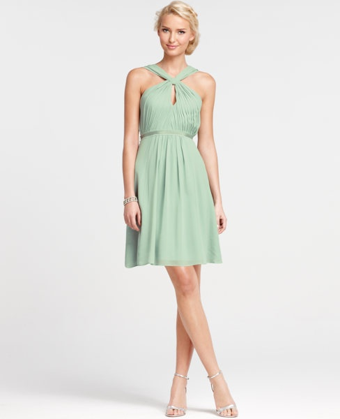 another cute spring cocktail dress: Taylor Bridesmaid, Wedding Ideas, Bridesmaid Ideas, Bridesmaids Dresses, Halter Bridesmaid Dresses, Beautiful Bridesmaids, Cute Bridesmaid Dresses, Mint Green Bridesmaids, Green Bridesmaid Dresses