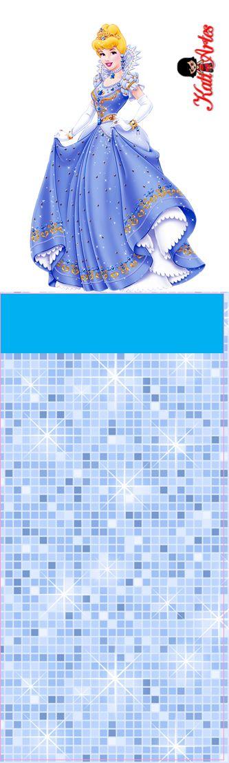 Cinderella Free Printable Original Nuggets Wrappers.