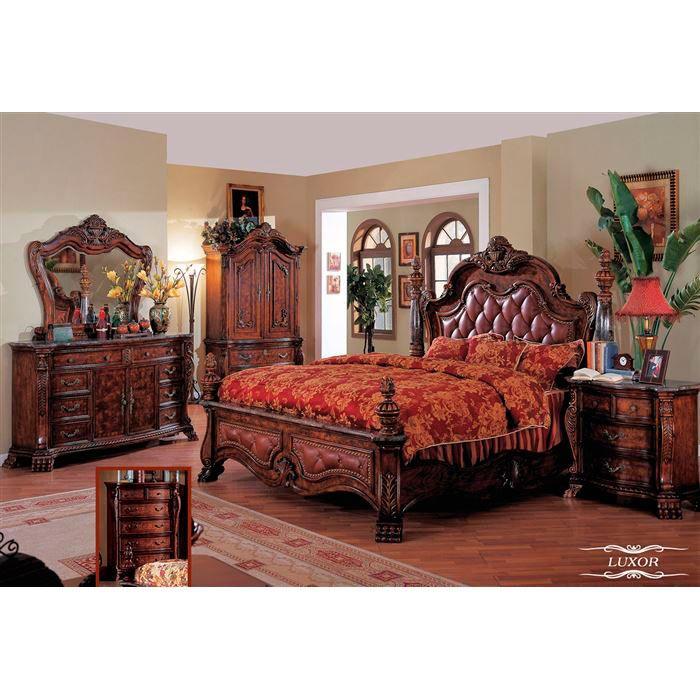 14 Best Images About Bedroom Sets On Pinterest Luxor
