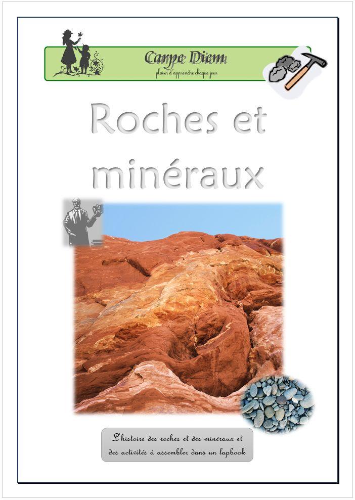 C'est parti pour des activités fascinantes et une initiation plaisante à la géologie pour minéralogiste en herbe ! Avec notre nouveau lapbook « Roches et minéraux », faites une incursion au cœur de la Terre.   www.carpediem.asso.fr