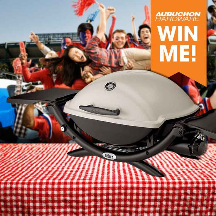 #FanFriday In the spirit of the New England Patriots upcoming Super Bowl appearance we are giving away a Weber Q 2200 grill! This grill is perfect for a game day tailgate!  To enter, simply leave a comment on our www.fb.com/aubuchonhardware page telling us your favorite game day food. Winner to be randomly drawn at noon EST Friday 1/23/15. Please share this post if you know someone who'd like to enter!