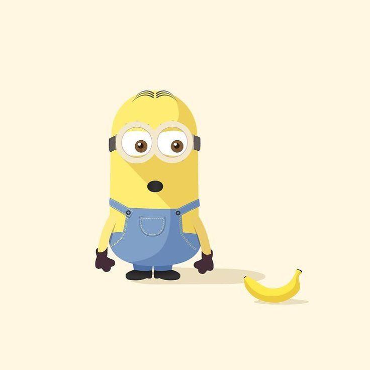 BANANA #iconaday #markostupic #madebymarko #illustration #design #art #vector #minion #minions #minionsmovie #minionsbanana #banana #365 #365project #adobe #foodporn by madebymarko