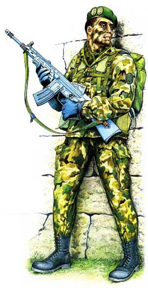 Spanish « Green Berets» 1992, pin by Paolo Marzioli