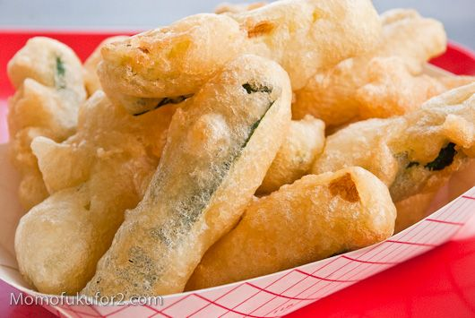 Beer-Battered Zucchini Sticks Recipe-Tried them out. DEFINATELY add a little seasoning salt.