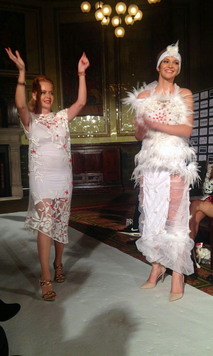 Becoming RAJE: LFW SS15 // Fashion International. Valdini Angels by Svetoslava Kirilova . A x