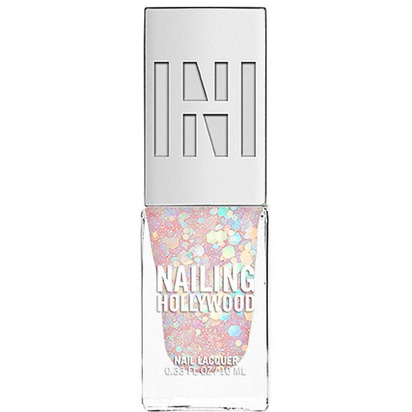 Nailing Hollywood Nail Polish, Unicorn 0.33 oz (10 ml) found on Polyvore featuring beauty products, nail care, nail polish, nails, beauty and makeup