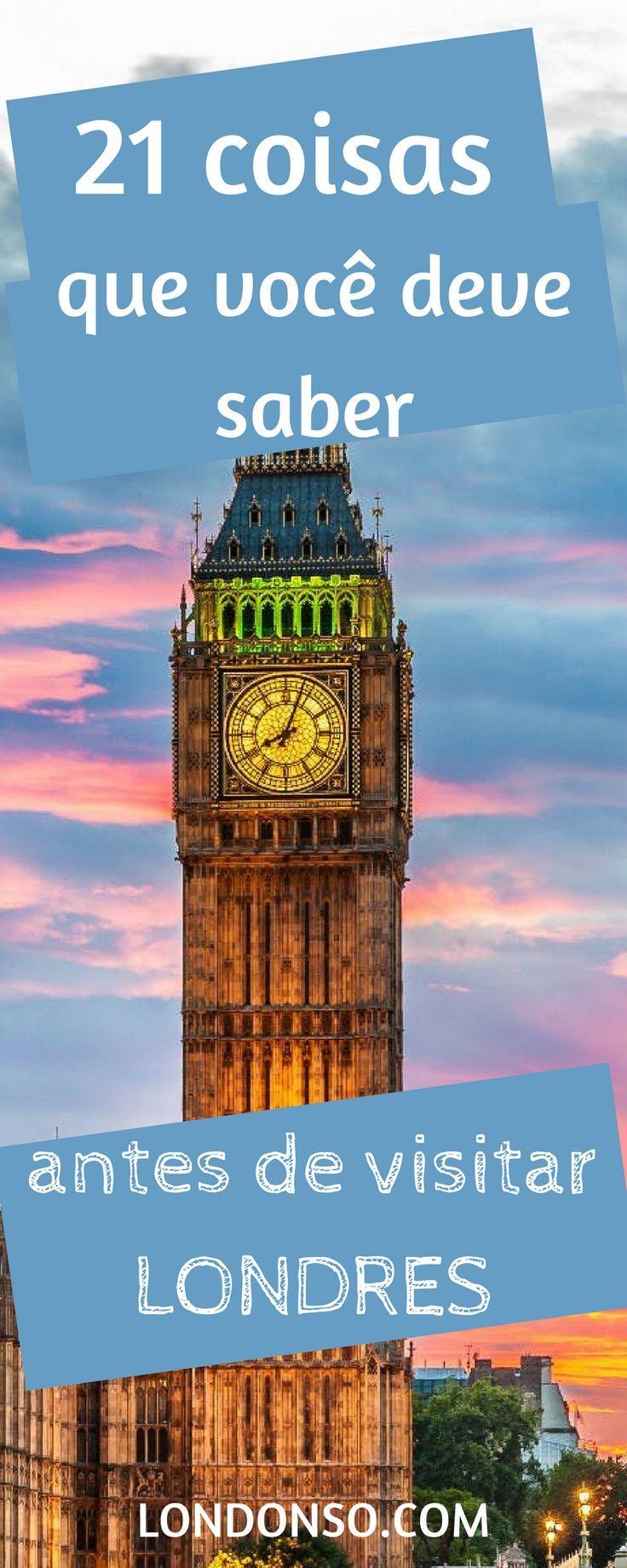 22 coisas que você deve saber antes de visitar Londres   – Londres | London