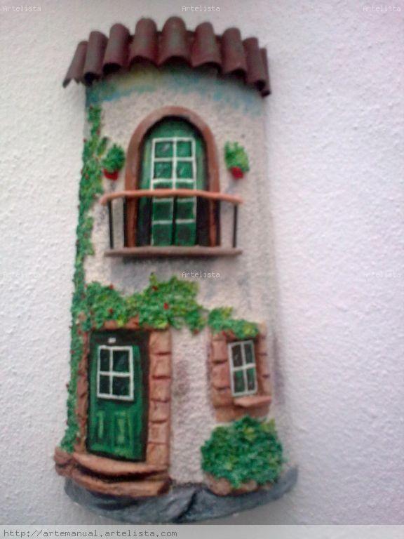 M s de 25 ideas fant sticas sobre cuadros en relieve en for Pintura para tejas