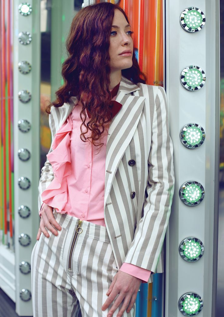 Editorial shooting for Magenta Femme, total outfit: Nineminutes, spring/summer 2017. Photographer: Edith De Michele, Styling Camilla Piovanelli // Istituto Marangoni, Make up artist Chiara Beltrame // Scuola BCM, Model Dalila Barbieri // MP Management.