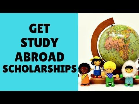 Study Abroad Scholarships + FREE eBook - YouTube