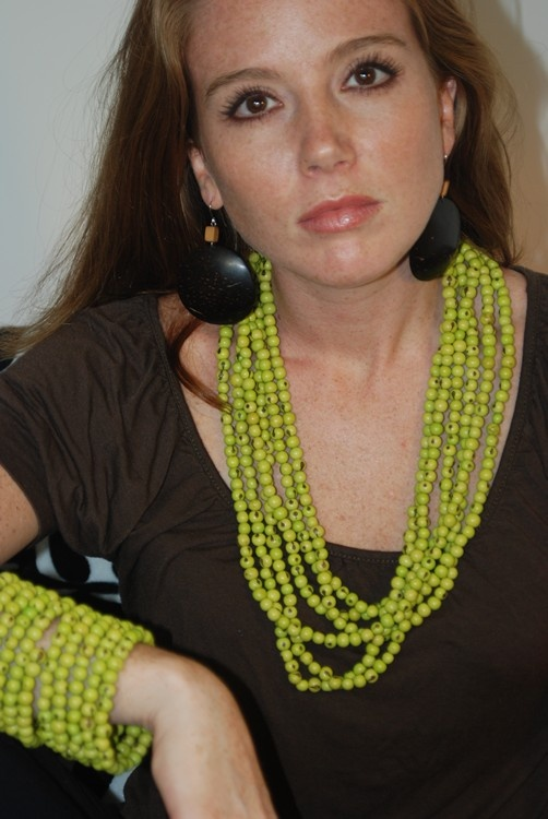 This is made from acai seeds... fashionable & green!