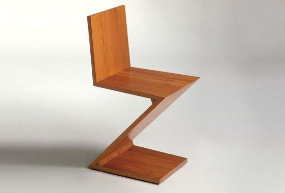 Zig Zag chair - Gerrit Rietveld - 1934