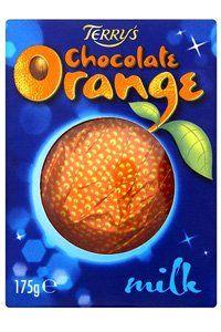2 Terry's Chocolate Orange segments: 90 calories