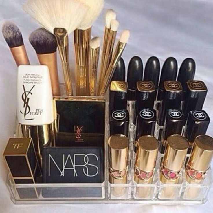 #collection #nars #channel #YSL #brushes #MAC #lipstick #blush #makeup #love