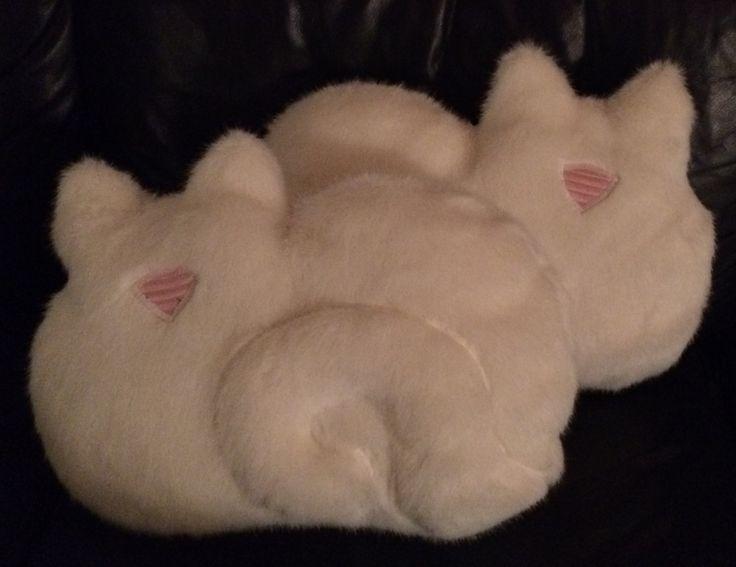 2 Cat Pillow