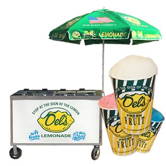 Del's Lemonade Push Carts | Get A Cart Price Quote