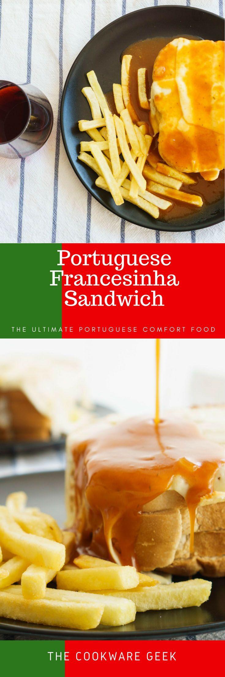Portuguese Francesinha Sandwich | The Cookware Geek
