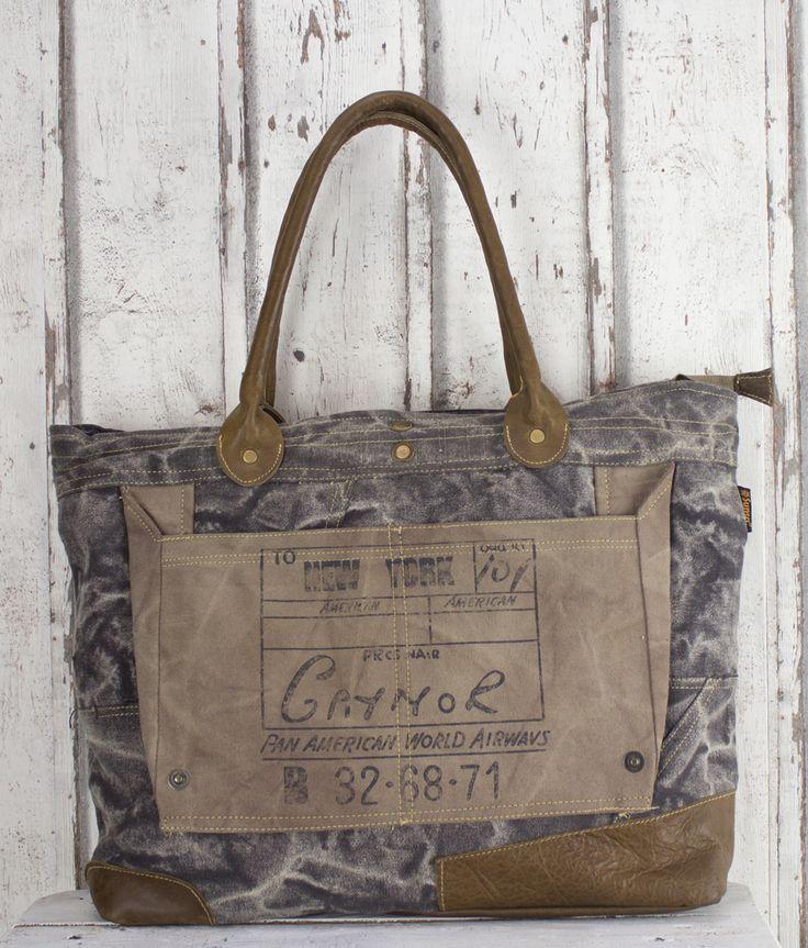 schwarze Damen Herren Vintage Tasche Canvas Leder Handtasche Schultertasche Shopper Canvastasche Damentasche Herrentasche Ledertasche Retro