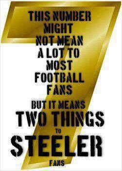 7!! Big Ben and the next Superbowl win!!