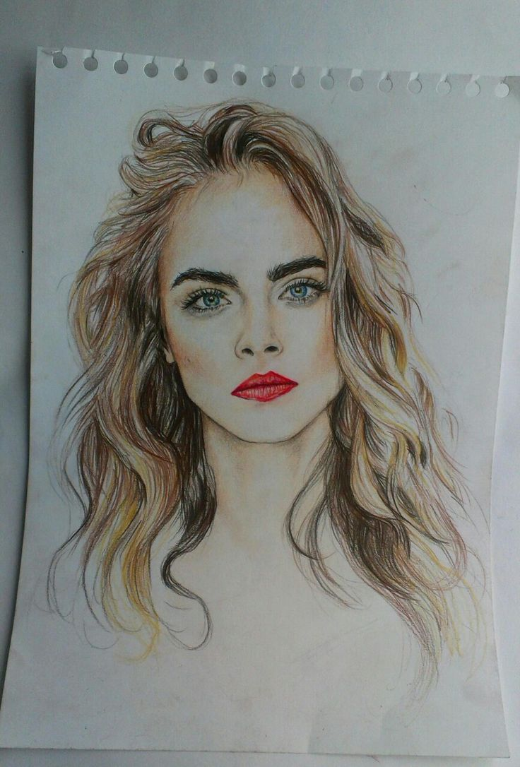 Amazing picture of Cara Delevingne, very talented x