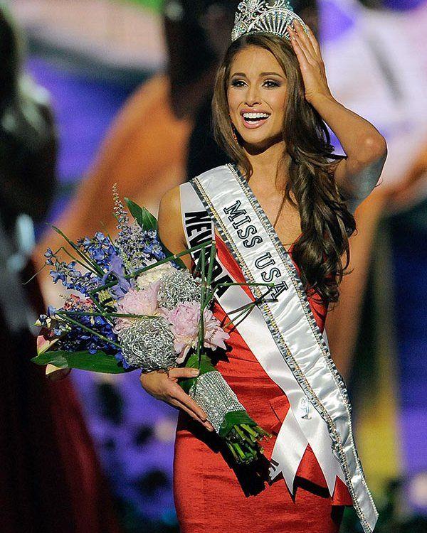 So pretty :) | Miss USA 2014 Winner — Nia Sanchez, Miss Nevada