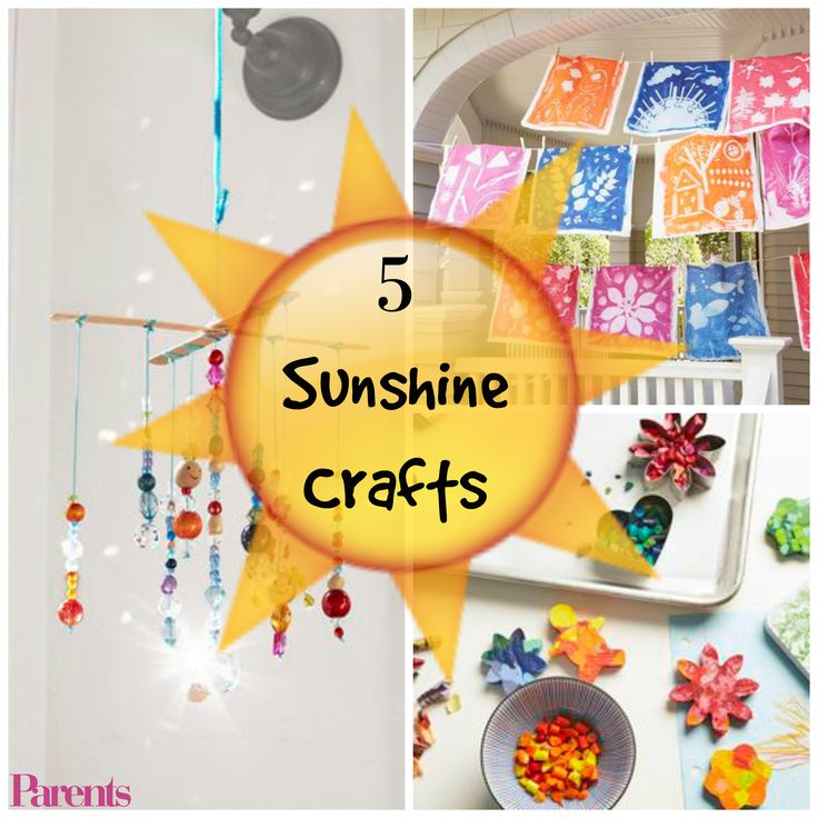 These simple summer crafts and activities are solar-powered, so the main ingredient you need is sunshine!