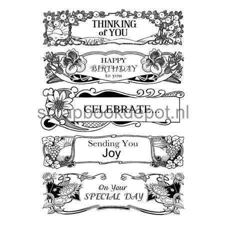 Crafty Individuals Rubber Stamps CI-407