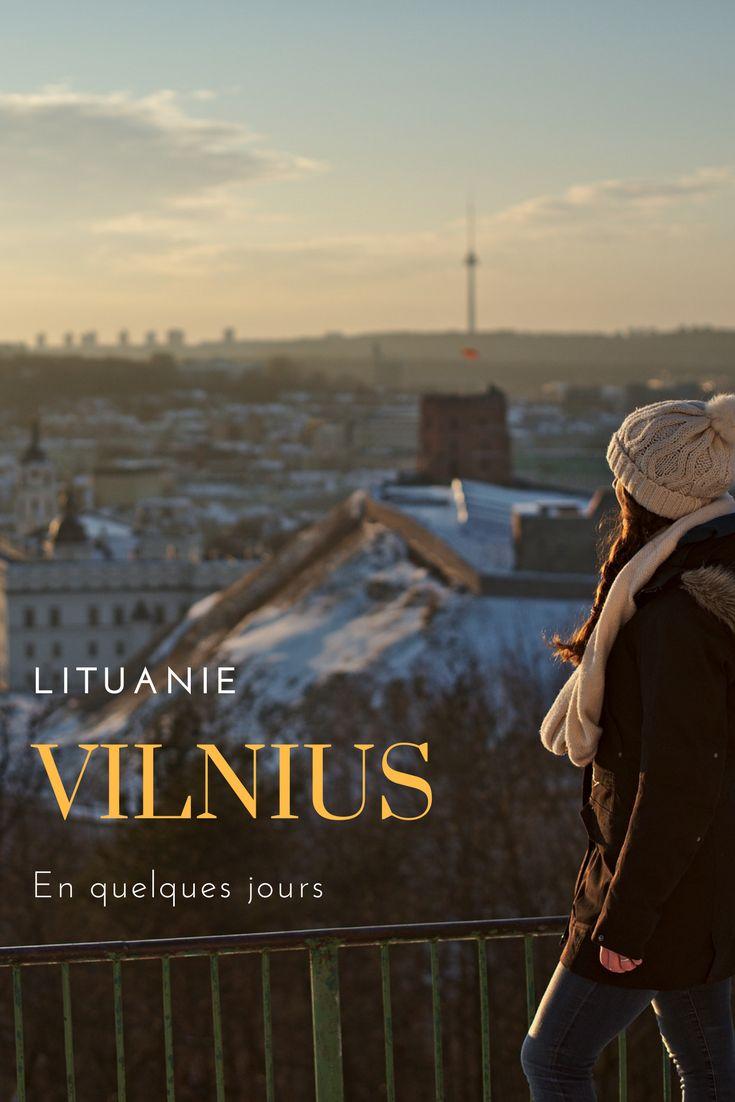 Vilnius en quelques jours: visite de la capitale de la Lituanie avec nos coups de coeur et choses à visiter absolument lors d'un séjour dans les pays baltes #lituanie #vilnius