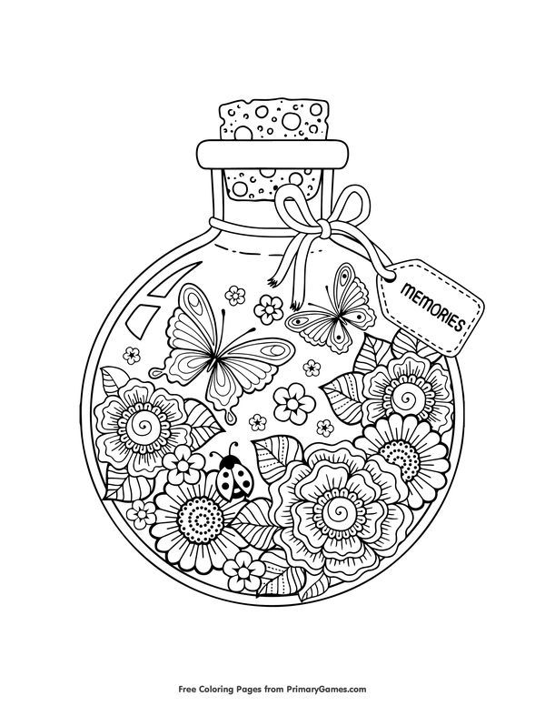 Free Printable Summer Coloring Pages EBook For Use In Your Classroom Or  Home Fro...#Classroom #Colorin… Summer Coloring Pages, Coloring Books,  Coloring Book Pages