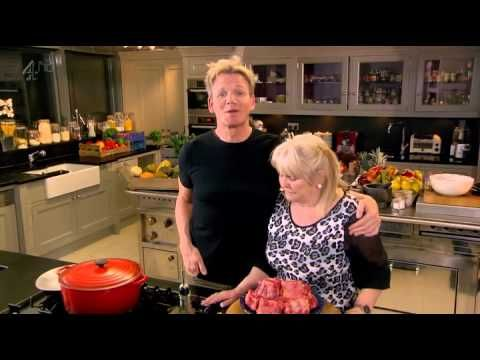 Gordon Ramsay's Home Cooking S01E16-Thrifty Food - Cinnamon eggy bread with quick stewed apple pg32, Smoky bacon sweetcorn & potato soup pg68, Chinese braised oxtail pg220, Chilli pached pears with star anise dust pg278