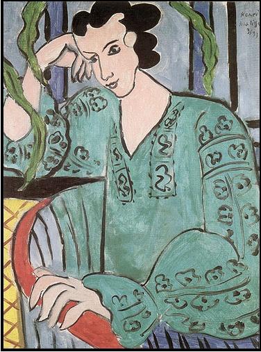 Henri Matisse La Blouse Roumaine