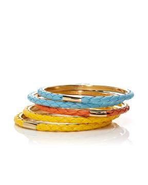 bangle bracelet set   Shop Online at Addition Elle  #AdditionElleOntheRoad