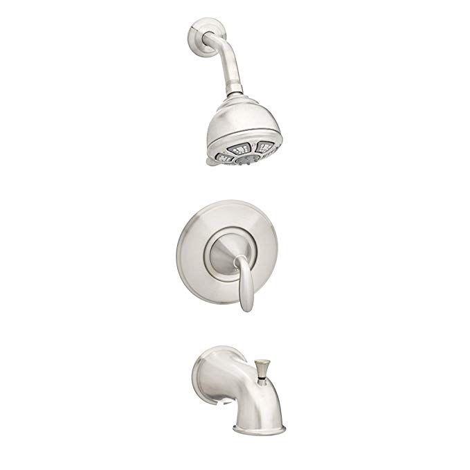 Pfister 8p8ws1pdkk Pasadena 1 Handle Tub And Shower Faucet Set