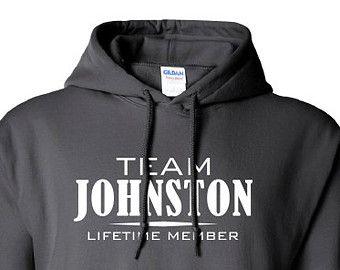 Team Johnston Lifetime Member Clothing family pride best last name mens ladies swag Funny hoodie hooded sweatshirt cool dope sports ML-318h