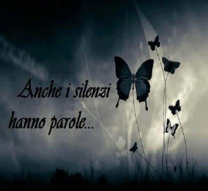 Anche i silenzi hanno parole