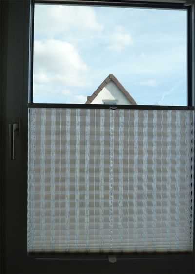 Plissee Bayreuth 26216 von handelsring.com / pleated blind Bayreuth 26216 from the onlineshop handelsring.com  #plissee #online