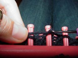 Knifty Knitter Knitting Looms...How To.Loom Pattern, Knifty Knitter, Loom Ideas, Knitter Loom, Knitting Looms, Loom Knits, Knits Pattern, Knits Loom, Knitter Pattern